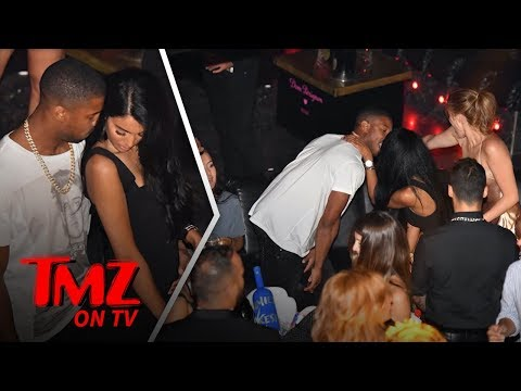Michael B. Jordan Gets Handsy With HOT Rumored Girlfriend | TMZ TV