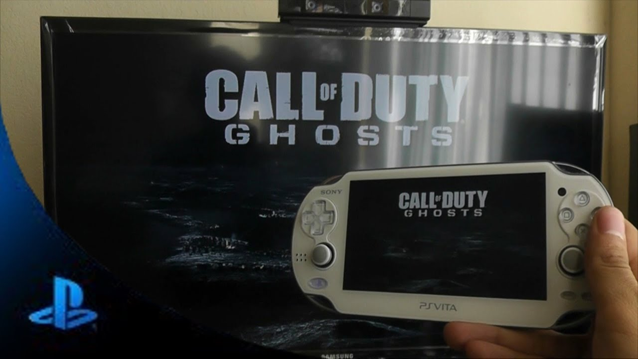 Playstation Vita Call Of Duty : Ps vita call of duty ghost gameplay remote play youtube