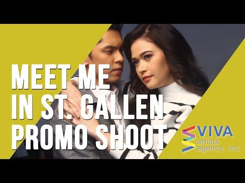 BEHIND THE SCENES: Meet Me In St. Gallen Promo Shoot (starring Bela Padilla and Carlo Aquino)