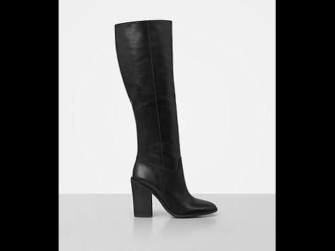 Women's high heels boots - YouTube