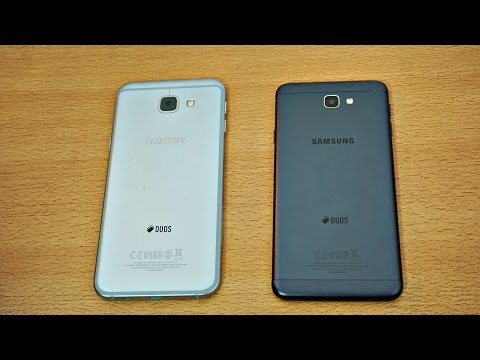 Samsung Galaxy A8 (2016) vs Galaxy J7 Prime - Review & Camera Test (4K)