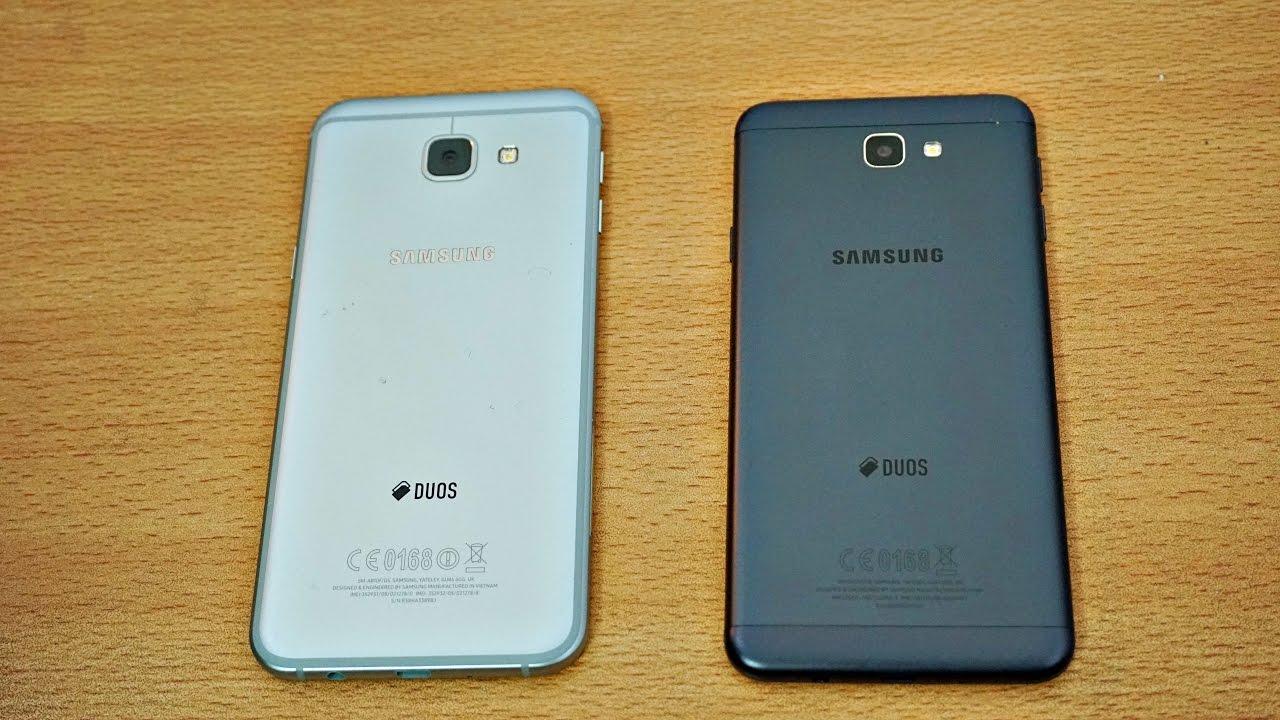Samsung Galaxy A8 2016 Vs Galaxy J7 Prime