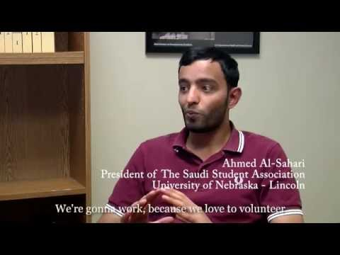 DRNE Interview with Saudi Student Association at UNL