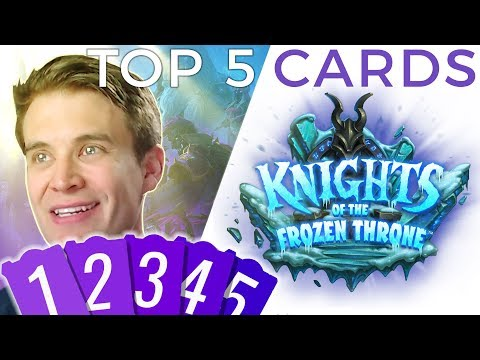 Brian Kibler's Top 5 Knights of the Frozen Throne Cards