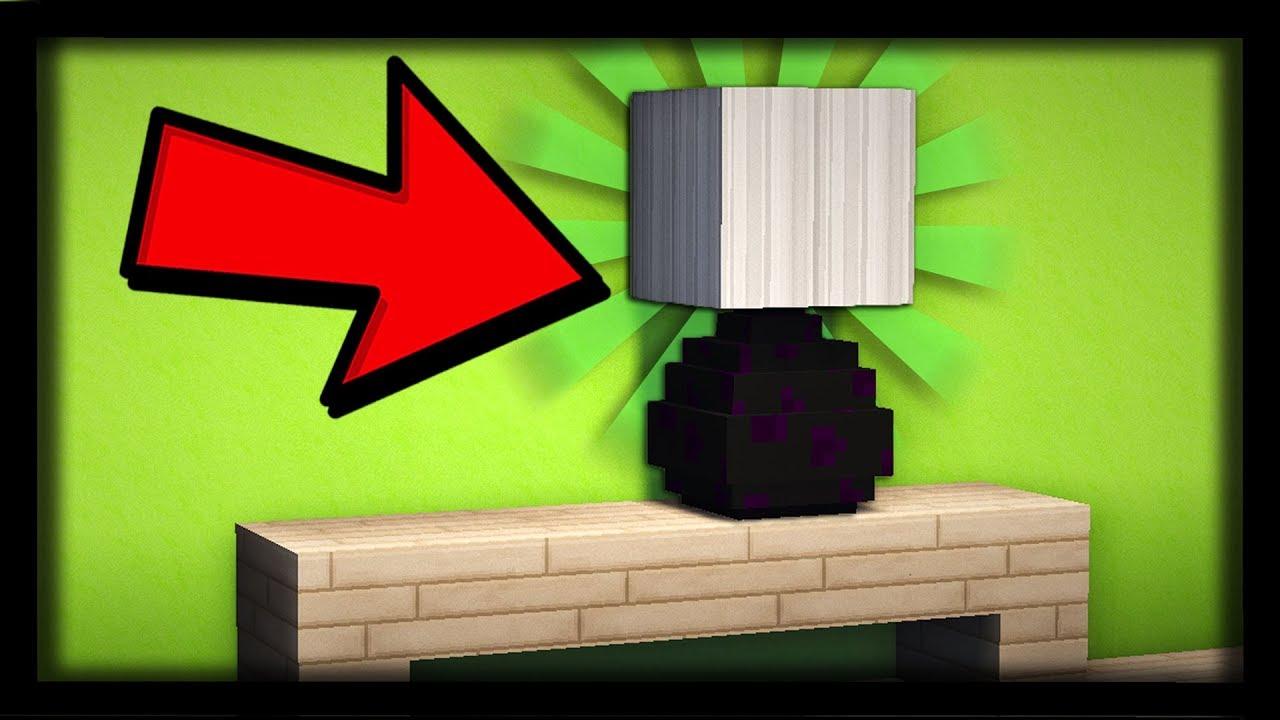Comment Faire Une Lampe Ultra Réaliste Dans Minecraft Tuto Build