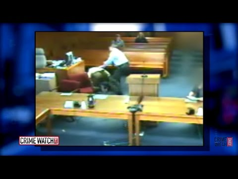 Judge Jumps Into Courtroom Tussle, Helps Restrain Defendant - Crime Watch Daily