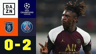 Doppelpack! Moise Kean schießt sich warm: Basaksehir - Paris 0:2 | UEFA Champions League