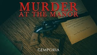 Gemporia 'Murder at the Manor' - 30th Nov 2019