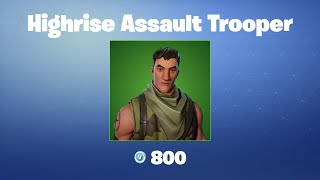 Highrise Assault Trooper   Fortnite Outfit/Skin