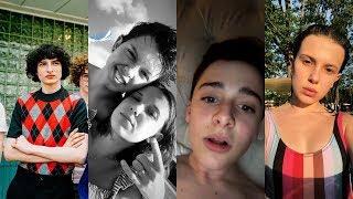 Stranger Things Cast Instagram Stories / May 2018