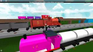Roblox Crashing lots of Trains