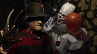 Pennywise The Clown vs Freddy Krueger