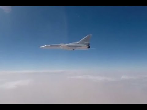 Russian fighter jets conduct airstrike targeting ISIS in Deir ez-Zor province