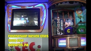 Friendship Never Ends Chuck E. Cheese's Studio C Alpha Berwyn, PA August 2017