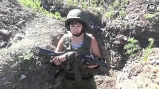 Женщины на войне - обычное дело