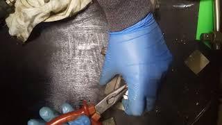 Как натянуть пыльник на тормозной поршень