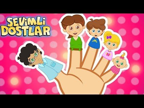 Parmak Ailesi çizgi film çocuk şarkıları 75DK Sevimli Dostlar | Kids Songs and Nursery Rhymes