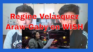 Regine Velasquez-Alcasid performs Araw-Gabi LIVE on Wish 107.5 Bus REACTION