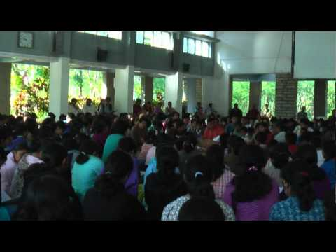 A Morning Assembly at the Rishi Valley School, 28-01-2011
