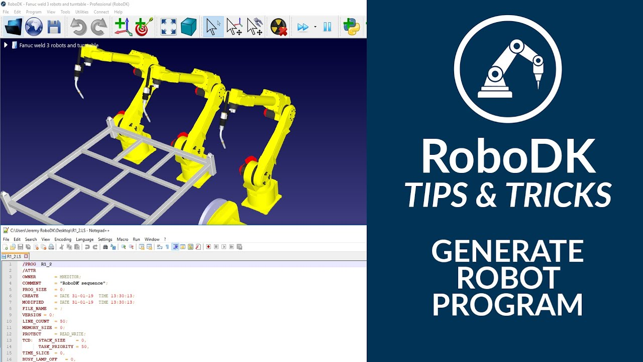 Tips and Tricks - RoboDK Documentation
