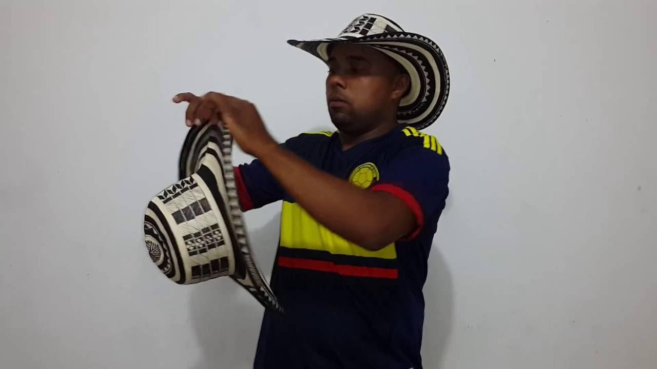 Sombrero vueltiao 21 vueltas original darle horma - YouTube feb190c3759