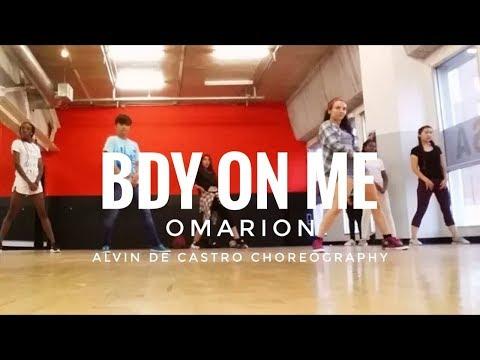 Bdy On Me - Omarion | Alvin de Castro choreography | IDA Hollywood