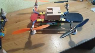 lista de materiales para drone casero