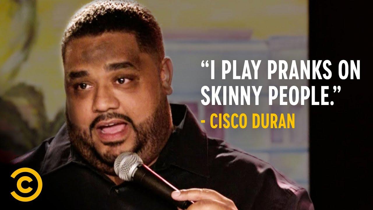 Pranking Skinny People on Airplanes - Cisco Duran