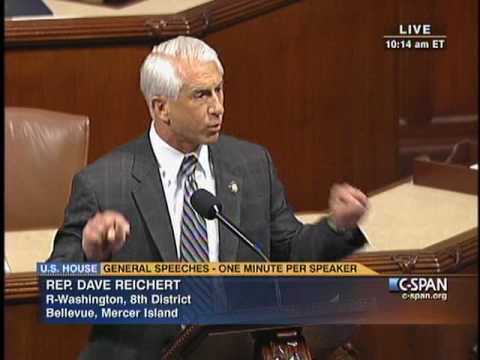 Dave Reichert Urges the House to Come Together for Solutions