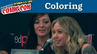 Coloring Between the Lines: Adult Coloring Books as Art   New York Comic Con 2016
