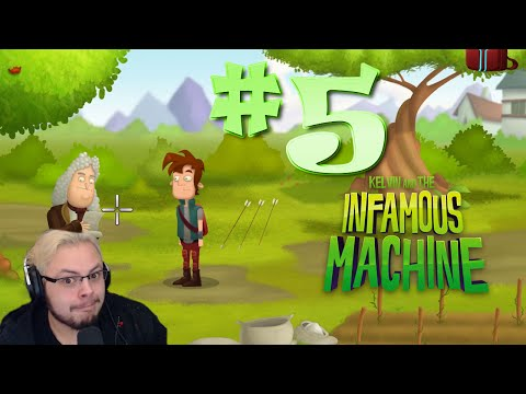 Kelvin and The Infamous Machine Episode 5 | You Can Lead An Isaac To An Apple Tree