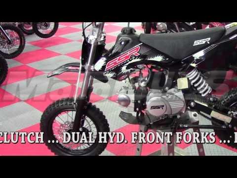 SSR 110 RT Dirt Bike - Pit Bike with semi-auto transmission. Free Shipping! - Motobuys