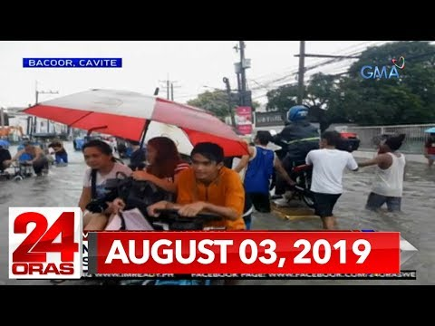 24 Oras Weekend Express: August 3, 2019 [HD]