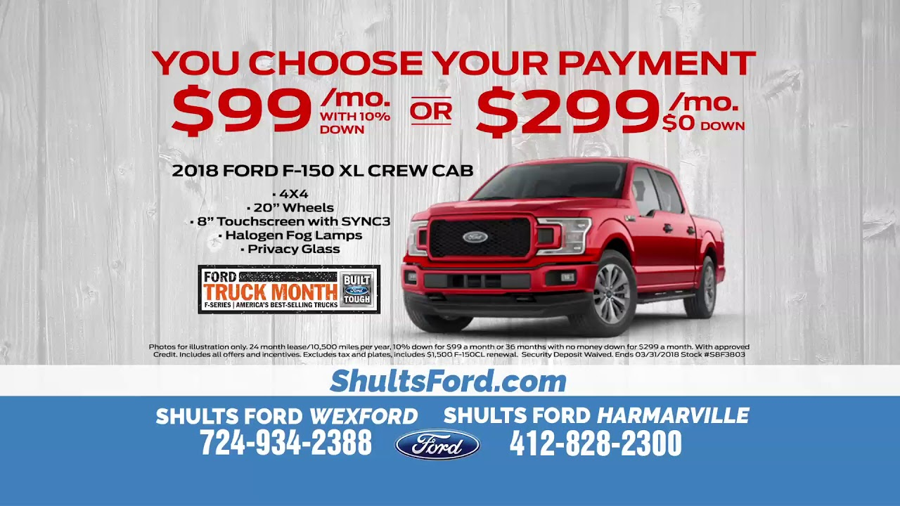 Lease A Ford F 150 For Just 99 A Month