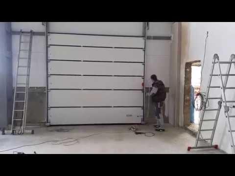 Секционные промышленные ворота заказать в Майкопе