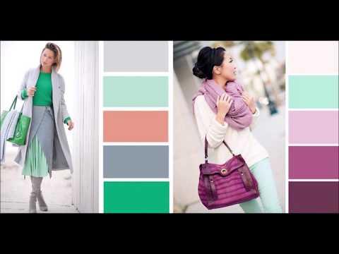 Как правильно сочетать цвета в одежде. Фото-подборка.