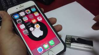 How to connect OTG USB Drive to iPhone 6s & iphone 7
