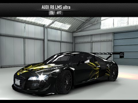 Audi r8 lms ultra csr shift pattern