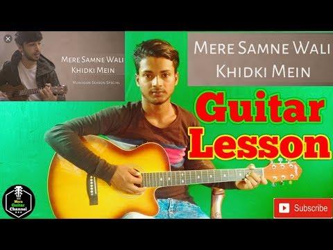 Mere Samne Wali Khidki Mein-Easy Guitar Lesson..By-Mera Guitar Channel(Hindi/Bengali)