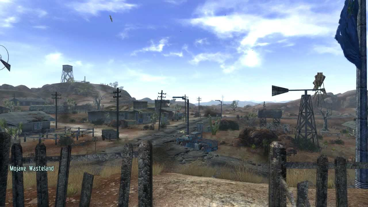 Modding Fallout NV 'Ultimate Edition' part 3: Nevada Skies
