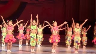 Таберик Раз ладошка два ладошка Отчетный концерт 2014 2 отд часть 15