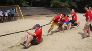 Соревнования по перетягиванию каната