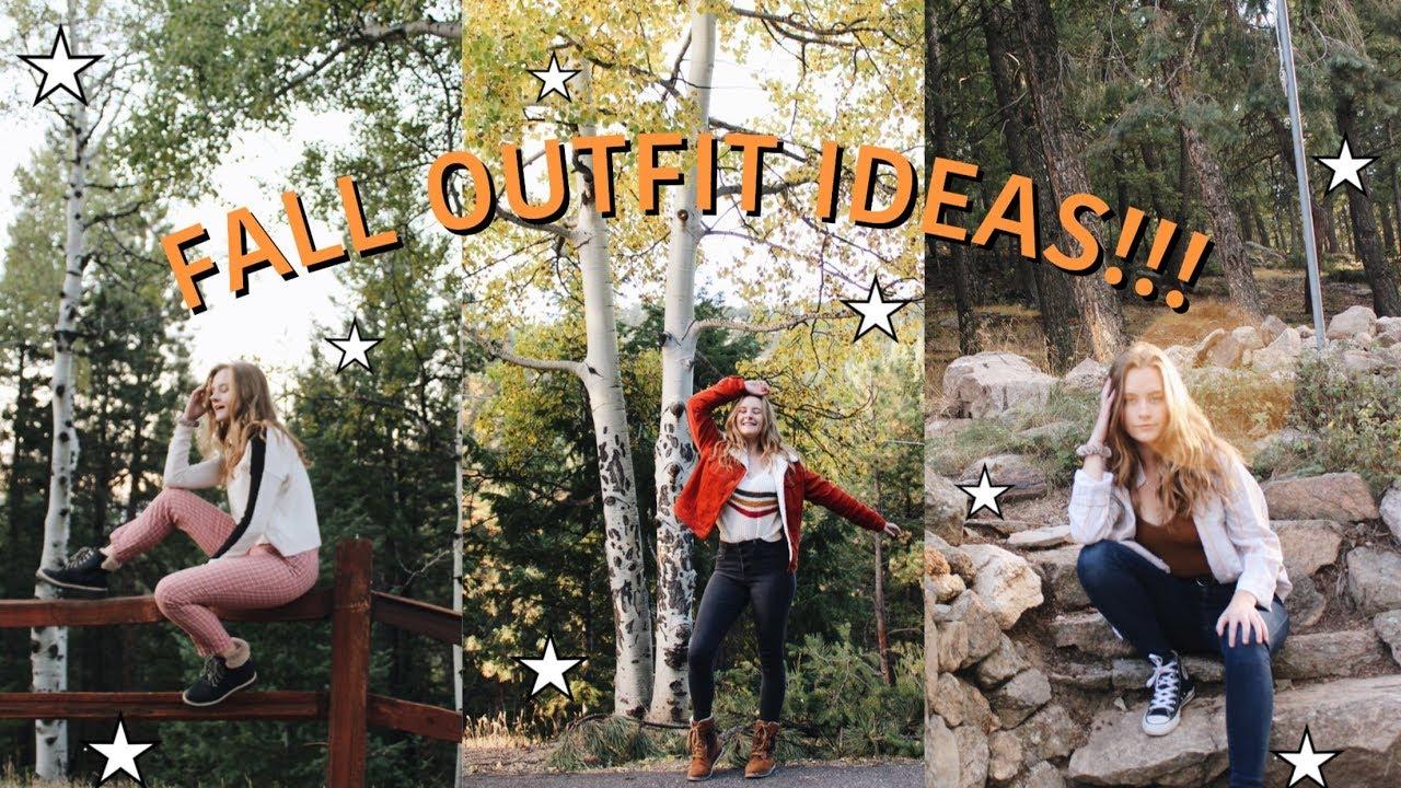 [VIDEO] – FALL OUTFIT IDEAS  | fall lookbook 🍁