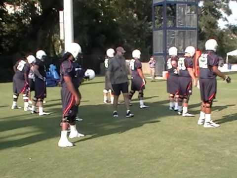 8.19 Auburn football practice video