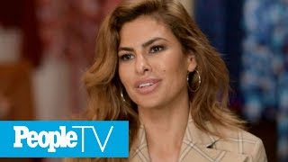 Eva Mendes Calls Parenting Her Two Daughters 'Beautiful And Maddening' | PeopleTV