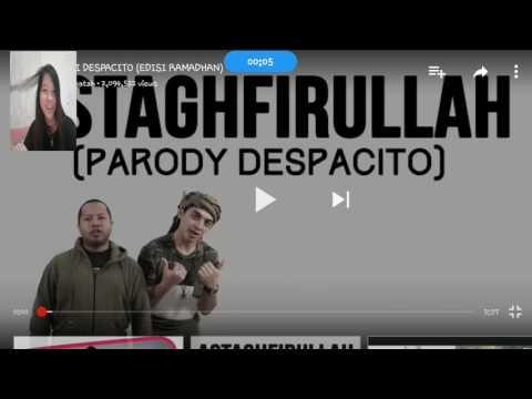 REACTING TO PARODY DESPACITO (bahasa) Duo Harbatah ngakak gila!!!!