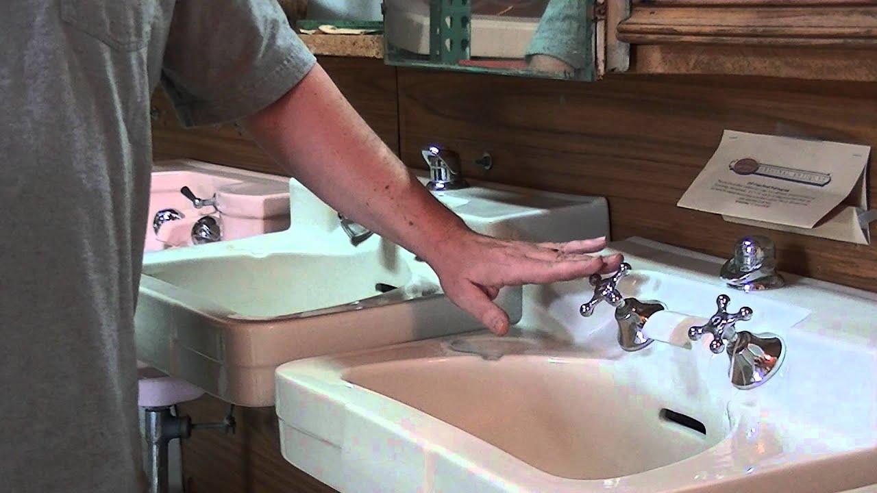 Crane sink pre WW2 or post WW2? - YouTube
