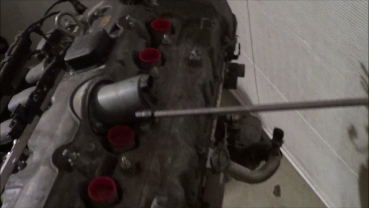 BMW Camshaft Adjustment Solenoid Removal