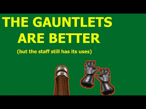 Heretic - Staff And Gauntlets Overview: Which One Is Better?