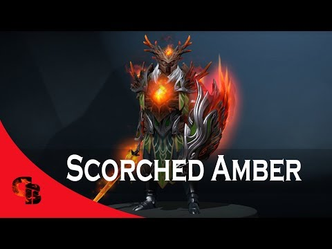 Dota 2: Store - Dragon Knight - Scorched Amber